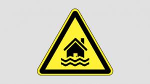 Warning_C8. Danger of flooding